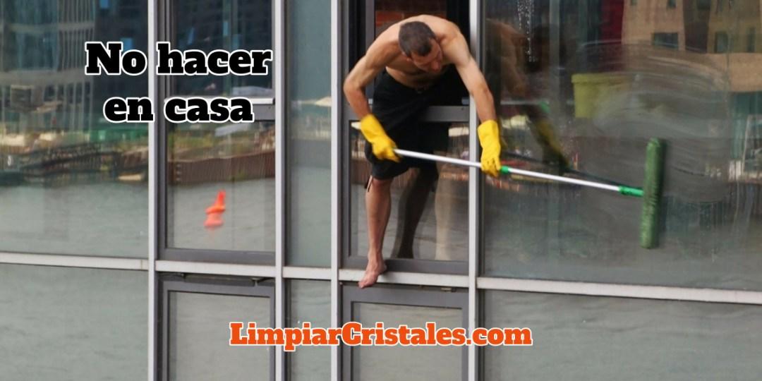 Como limpiar los cristales por fuera en un piso o apartamento ...
