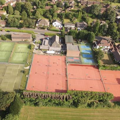 Limpsfield Tennis Club. Tennis, racketball, squash, badminton and gym for all ages. They also have a gym and personal trainers. http://www.limpsfieldtennis.co.uk