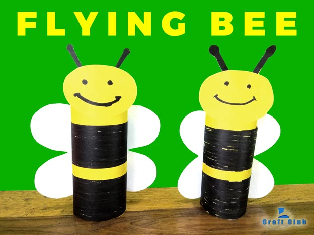 How To Make Handmade Bumble Bee Paper Craft For Kid Hd Linas