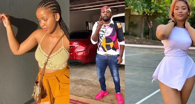 """I don't Fu*ck Nigerian Niggas in Sandton to pay my bills "" Two teenage influencers fight dirty over Dj Maphorisa"