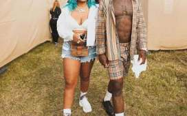 Trouble in Paradise as Burnaboy and UK rapper Stefflon Don Unfollows each other on Instagram