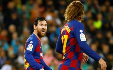 Antoine Griezman's former Agent attacks Messi for hating his former Client.