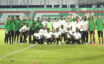 """""""Do Not Underrate the Loane stars of Sierra Leone"""" Coach Gernot Rohr warns his Players ahead of the all-important game in Benin city"""