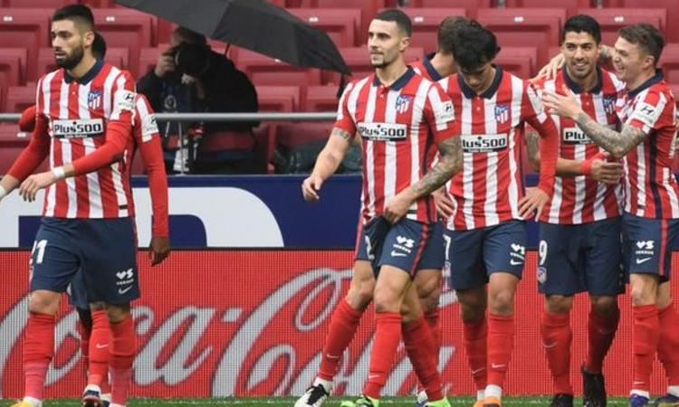 Atletico Madrid went three points clear at the top of the Spanish La Liga table with two games in hand following victory over Elche.