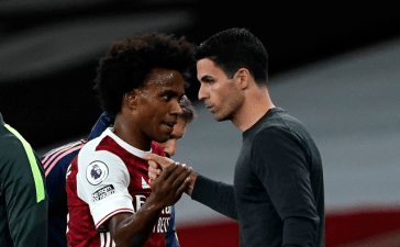 Arsenal Players sad with Preferential Treatment Of Willian.