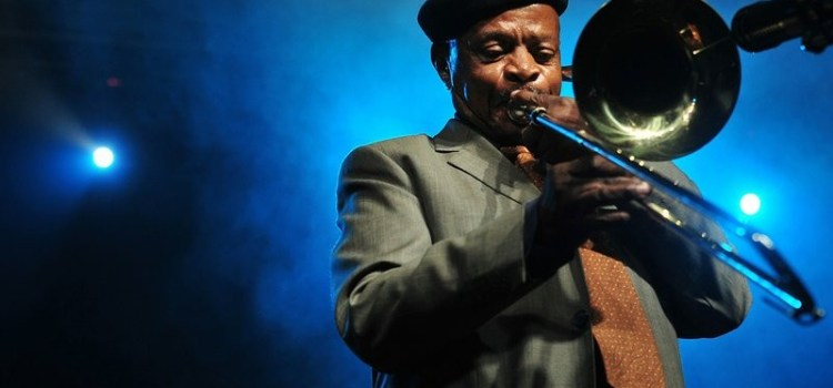 A South African Musical legend, Jonas Gwangwa dies at the age of 83.