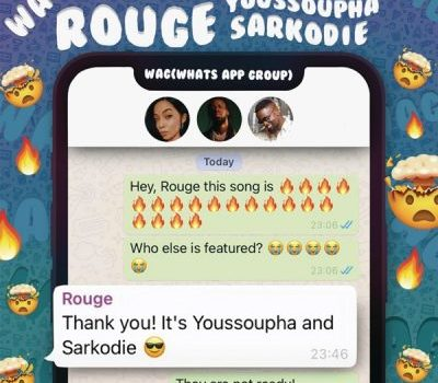 Rouge ft Sarkodie & Youssoupha – W.A.G (Audio Downloads).