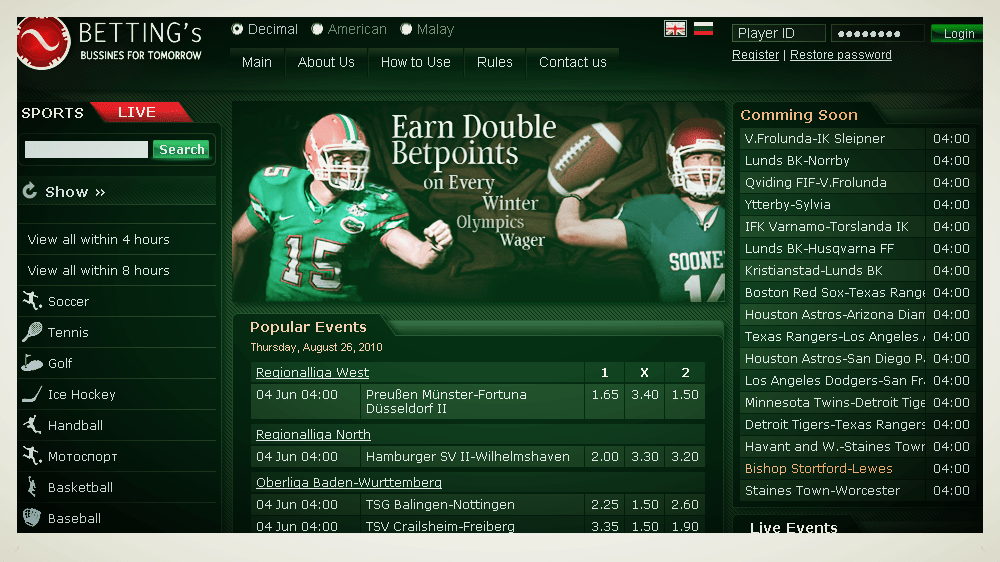 Tips for Online Sports Betting, The Online Sportsbook ...