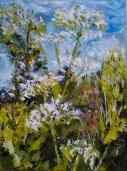 Summer's Here - Acrylic on box canvas.