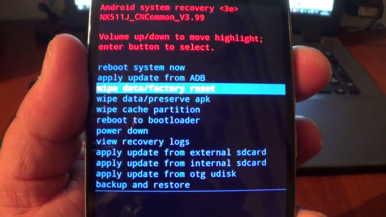Параметрлерді зауыттық параметрлерді қалпына келтіріңіз - Android смартфонын ашу