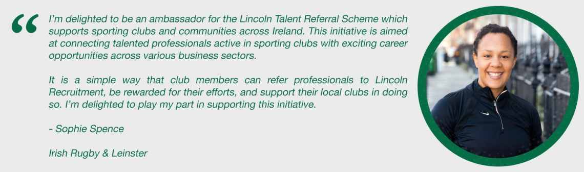 Spohie Spence Ambassador Lincoln Recruitment