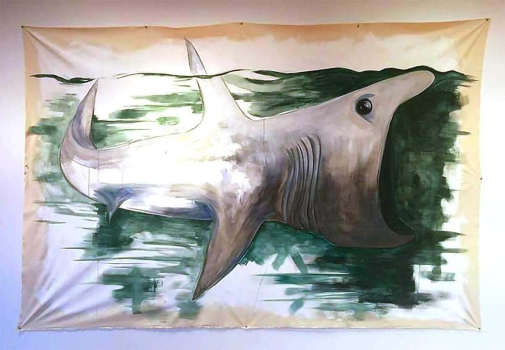 Tara Pierce Basket Shark