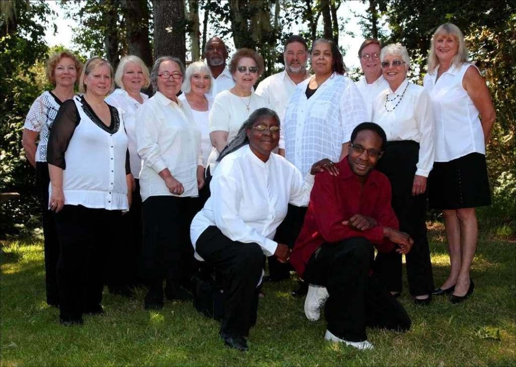 Inspirational Sounds Gospel Choir Group Portrait