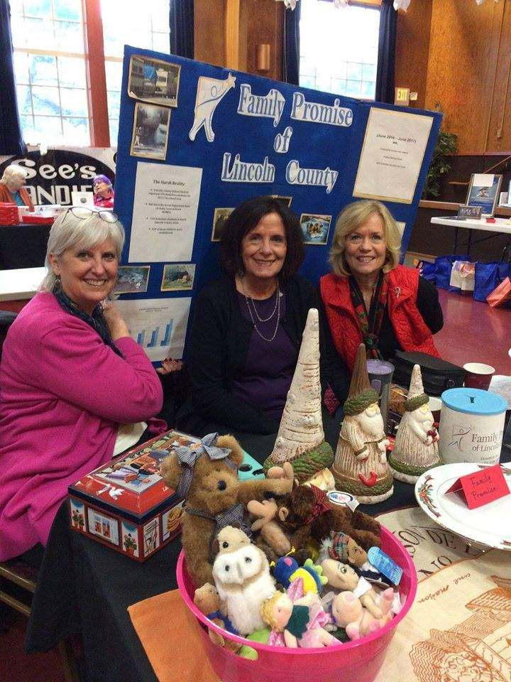 Sue Anderson Marilyn Salci and Joie Ritchie for Family Promise