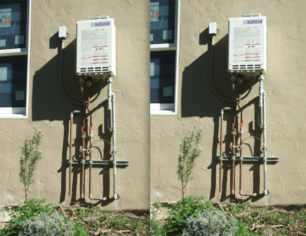 Q: How does a tankless water heater save energy?