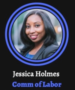 Jessica Holmes for NC Commisioner of Labor