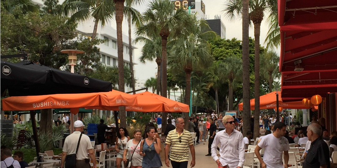 Lincoln Road is the center of everything happening in South Beach.