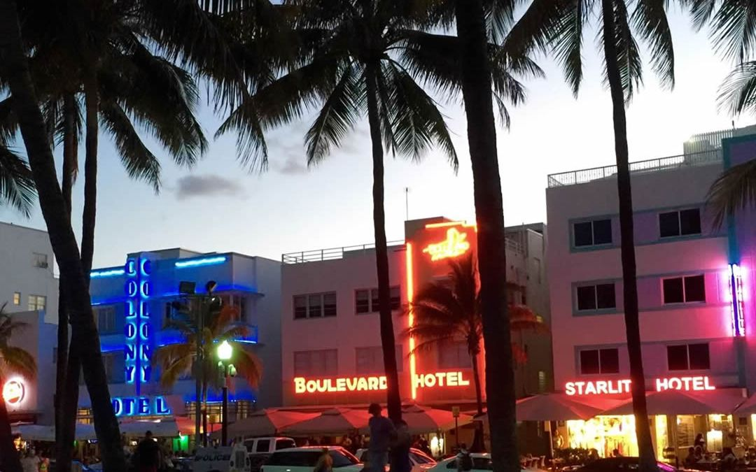 Ocean Drive is Only a Short Walk From Lincoln Road.