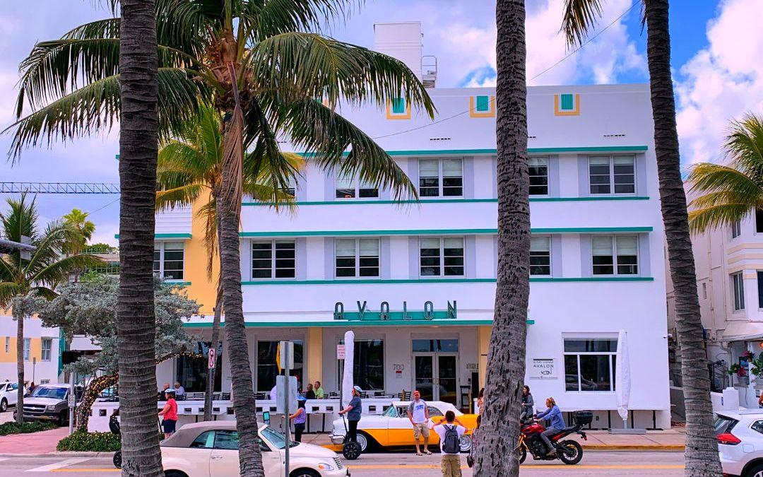 Avalon Hotel on Ocean Drive