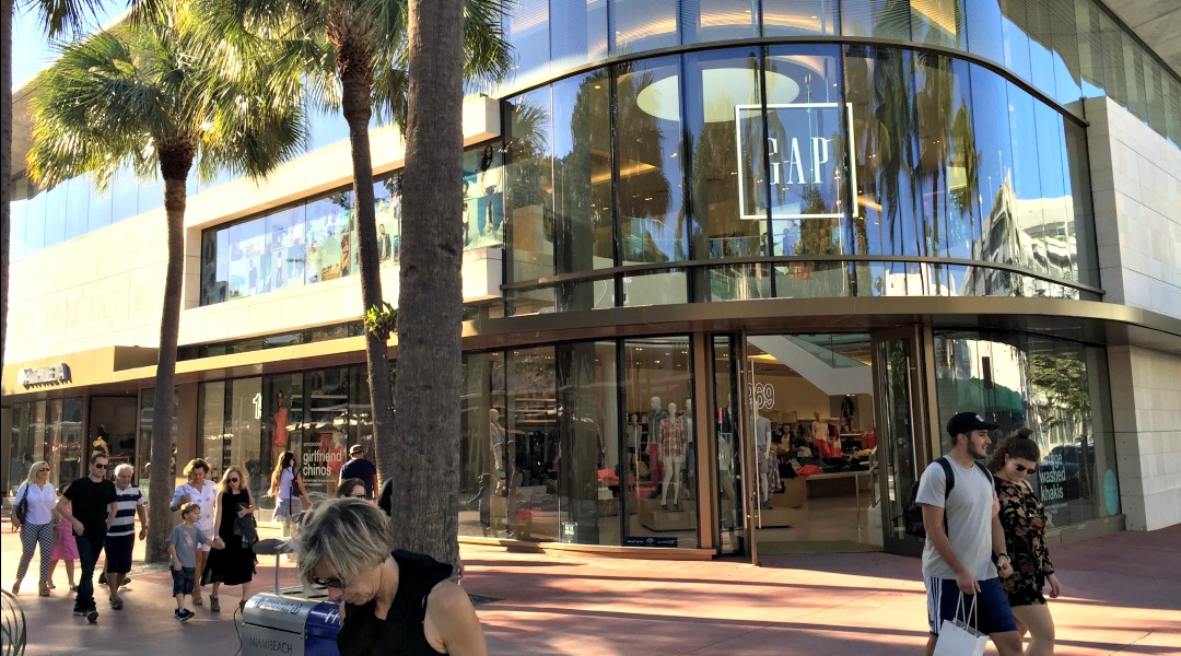 GAP's Lincoln Road Flagship store