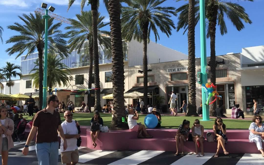 Let The Kids Take a Shopping Break at Euclid Circle on Lincoln Road