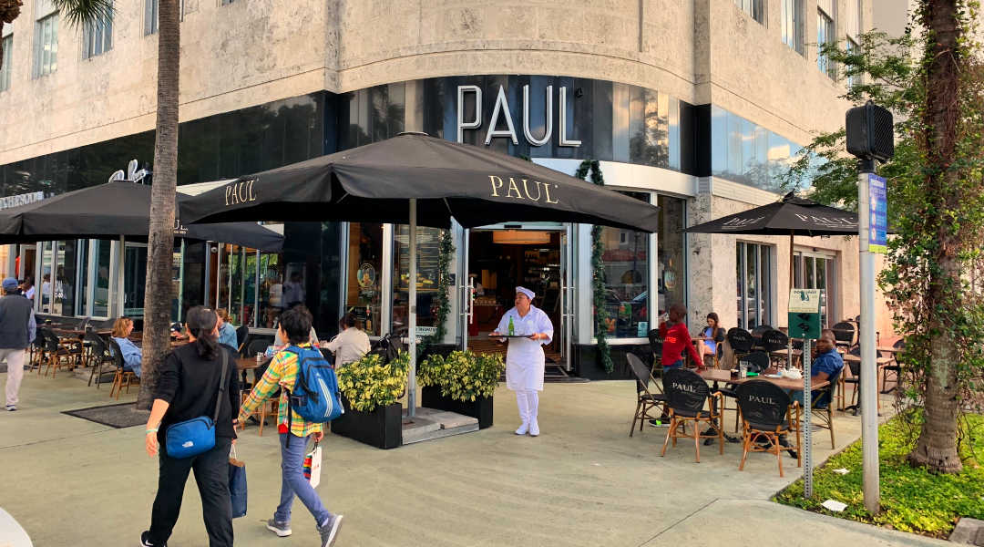 Paul Cafe on Lincoln Road