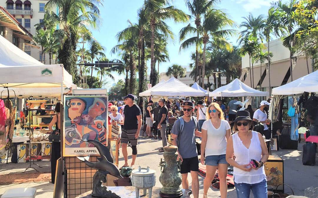Lincoln Road-Antique-Market
