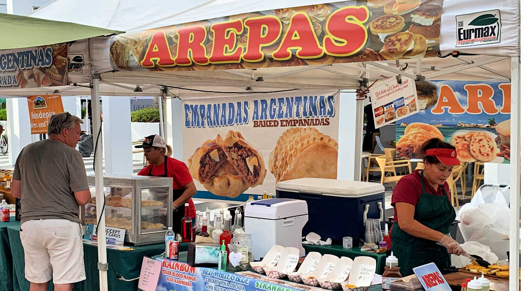 Arepas on Lincoln Road