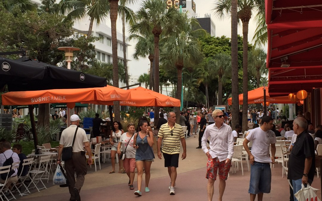 STROLL DOWN LINCOLN ROAD. IT'S ALL HERE