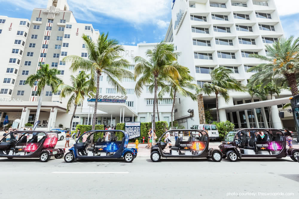 swoop ride to Lincoln Road