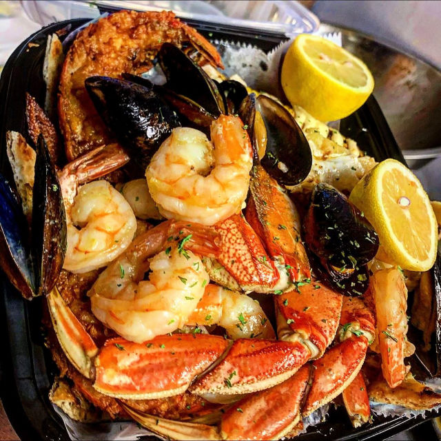 Stop by and enjoy fresh seafood at CFood Shack @ Lincoln Road
