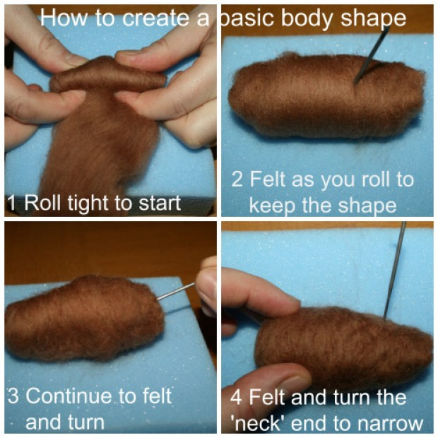 how to make a body shape