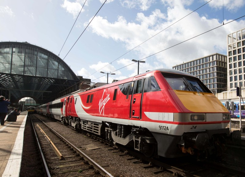 Virgin Trains East Coast train