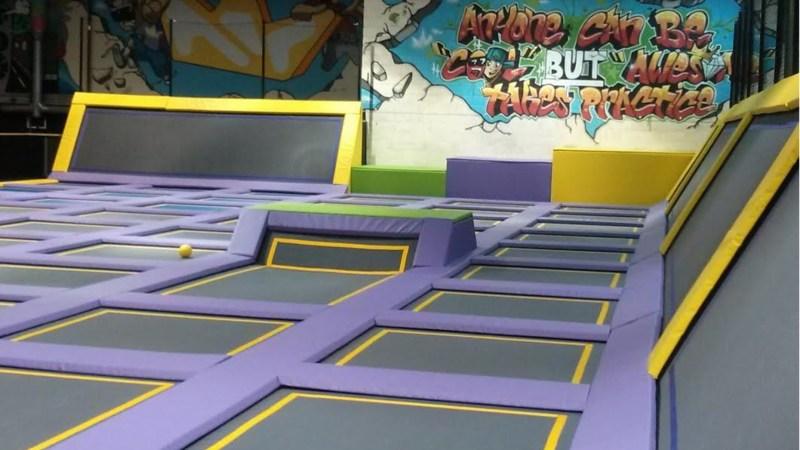Doncaster trampoline park.