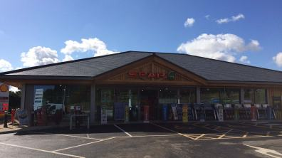 A big Spar is at the centre of the new Laceby Lodge Services