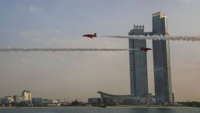 Abu Dhabi. Photo: Red Arrows