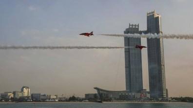 Abu Dhabi. Photo: Red Arrows