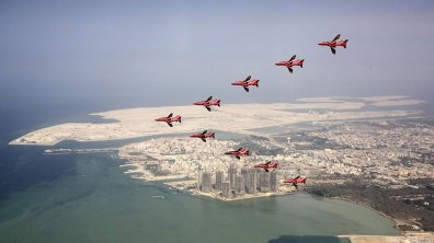 Bahrain. Photo: Red Arrows
