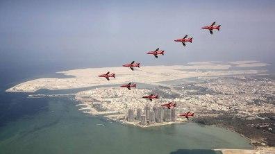 Bahrain. Photo: Red Arrows