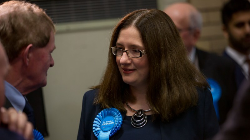 Sleaford and North Hykeham MP Caroline Johnson. Photo: Sean Strange for Lincolnshire Reporter