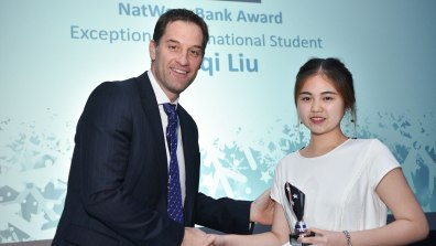 Winner of Exceptional International Student, Meiji Liu. Photo: Steve Smailes for Lincolnshire Reporter