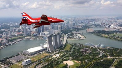 Singapore. Photo: Red Arrows