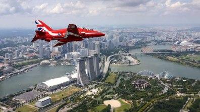 Singapore. Photo: Red Arrows