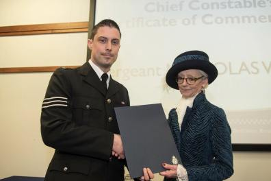 Sergeant Nick Waters. Photo: Steve Smailes for Lincolnshire Reporter