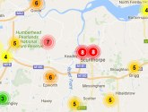 Warning for high levels of air pollution in Scunthorpe