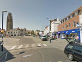 Man taken to hospital after being hit by car on Boston Market Place