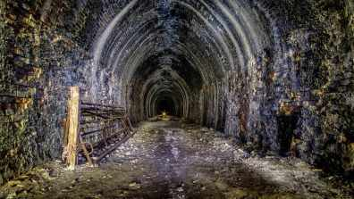 Take a look at this disused tunnel in Donington-on-Bain. Photo: Simon O'Neill