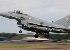 Typhoon jets launched from RAF Coningsby over 'bomb threat'
