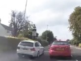 Watch: Impatient BMW driver mounts kerb to overtake multiple vehicles