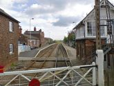 Crews attend Heckington railway station after fire in carriage
